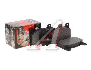 Колодки тормозные М-2140,ГАЗ-3102 передние (4шт.) AD 412-3501090, 412-3501090-12
