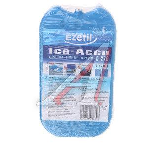 Аккумулятор холода 245г водно-солевой (жесткий) тонкий 2шт. EZITIL 886939, G270