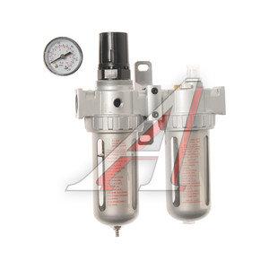 """Блок подготовки воздуха (фильтр, регулятор, лубрикатор масла) 1/2"""" (0-10Bar) AFRL804, PN-AFRL804,"""