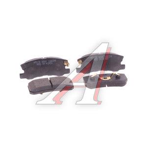 Колодки тормозные MITSUBISHI Outlander (05-),Asx (10-),PEUGEOT 4007 (07-) задние (4шт.) HSB HP5139, GDB3247, 4605A502