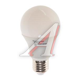 Лампа светодиодная E27 A60 7W (60W) теплый КРАСНАЯ ЦЕНА 4606400616375