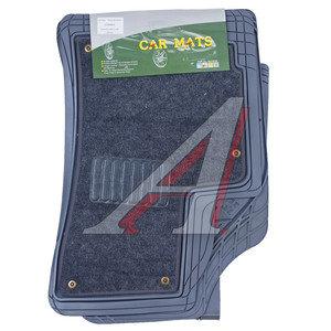 Коврик салона универсальный резина цельный задний ряд серый (4 предмета) COMBIS COMBIS ковр.сал.унив