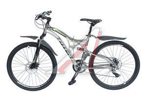 """Велосипед 26"""" 21-ск. двухподвесный дисковые тормоза черный FXR-ONE TOTEM T15B108 B, T15B108,"""