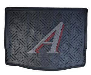 Коврик багажника FORD Focus 3 хетчбек (11-) полиуретан NOR NPL-P-22-181