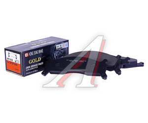 Колодки тормозные KIA Sportage (94-03) передние (4шт.) HSB HP1028, 0K0Y1-3323Z