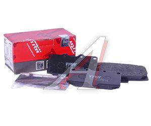 Колодки тормозные SUBARU Impreza (98-05) передние (4шт.) TRW GDB3307, 26296-FE090
