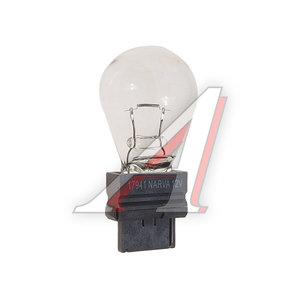 Лампа 12VхP27W (W2.5х16d) NARVA 17941, N-17941