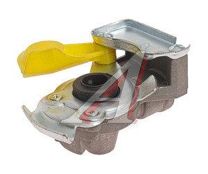 Головка соединительная тормозной системы прицепа 16мм (грузовой автомобиль) желтая комплект 952 200 022 0/222 0 (желтая), 866916/866816ж,