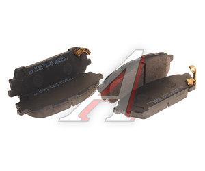 Колодки тормозные SUBARU Forester передние (4шт.) HSB HP8424, GDB3395, 26696-FE040