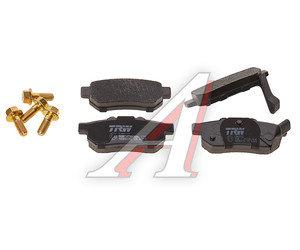 Колодки тормозные HONDA Civic,Jazz задние (4шт.) TRW GDB3174, 43022-SO-4E03/43022-SO-4E01/43022-SAA-E51/06430-SA