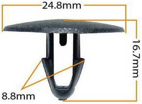 Пистон обивки универсальный KJ-326 MASUMA KJ-326