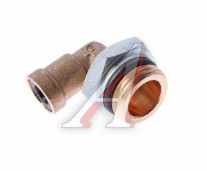 Соединитель трубки ПВХ,полиамид d=8мм (наружная резьба) М22х1.5 угольник латунь CAMOZZI 9502 8-M22X1.5, 893 830 770 0