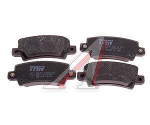 Колодки тормозные TOYOTA Corolla (02-) задние (4шт.) TRW GDB3289, 04466-02160/04466-02070/04466-02020