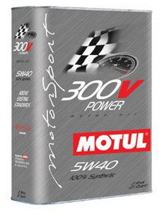 Масло моторное 300V POWER синт 2л MOTUL MOTUL SAE5W40, 104242
