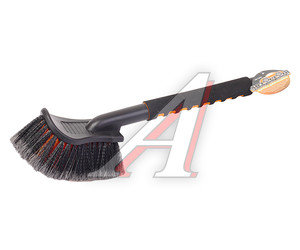 Щетка для мытья автомобиля с мягкой ручкой 43см АВТОСТОП AB-1909