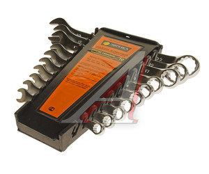 Набор ключей комбинированных 6-19мм 10 предметов в холдере сатинированные ЭВРИКА ER-31100