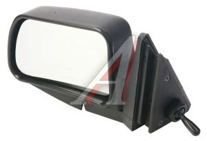 Зеркало боковое ВАЗ-2105 левое антиблик хром Политех-Р-5рта/СПл, 2105-8201050