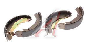 Колодки тормозные HYUNDAI Elantra XD (-00),Matrix (02-) задние барабанные (4шт.) HSB HS0007, GS8678, 58305-38A00