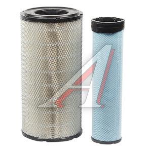 Фильтр воздушный JCB JS220,240,260 комплект (A8577+A8578) SAKURA A8577S, LX1775/C216301, 6001853100/42X01H0P02/42X010P01