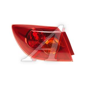 Фонарь задний MAZDA 3 хетчбек (04-) левый (красный наружный) TYC 11-6118-A1-2B, 216-1964L-UE-R, BP4K-51-160D