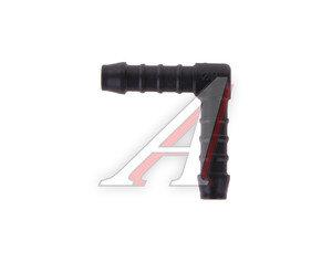 Соединитель для шлангов d=8-8 Г-образный SMILGA 1457