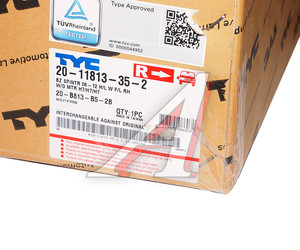 Фара MERCEDES Sprinter (06-) правая (с ПТФ) (под корректор) TYC 20-B813-B5-2B, 440-1160R-LDEMF, 9068200661
