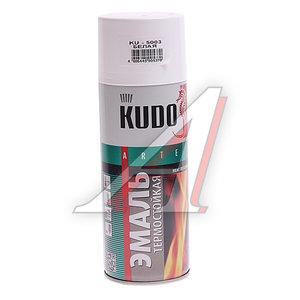 Краска термостойкая белая 520г KUDO KUDO-5003