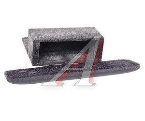 Подлокотник ГАЗ-3302 декоративный с ящиком черный верх кожзам ЖУКОВ-3
