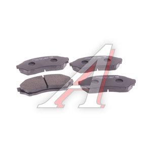Колодки тормозные MAZDA 323 BJ (97-02) передние (4шт.) HSB HP5016, GDB3193, BJYM-33-23Z