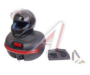 Багажник (кофр) для скутера, 1 шлем внутри Н2 комплект H2, 4620753548855
