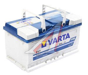 Аккумулятор VARTA Blue Dynamic 80А/ч обратная полярность, низкий 6СТ80 F17, 580 406 074 313 2