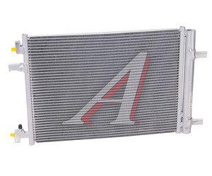Радиатор кондиционера CHEVROLET Cruze (09-) OPEL Astra (09-) LUZAR LRAC0550, 940134, 13377762