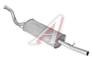 Глушитель ВАЗ-2112 Н/О Тольятти 2112-1200010Т, 079237, 2112-1200010