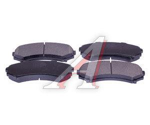 Колодки тормозные MITSUBISHI Pajero 3,Grandis передние (4шт.) SANGSIN SP2075, GDB3246