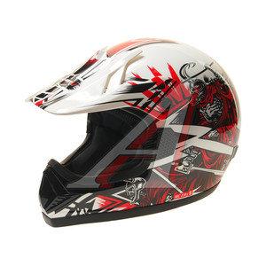Шлем мото (кросс) MICHIRU Arena Riders MC 120 L, 4680329006738,