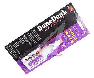 Клей-супер не требует обезжиривания поверхностей индустриальный 30г DONE DEAL DD6643,