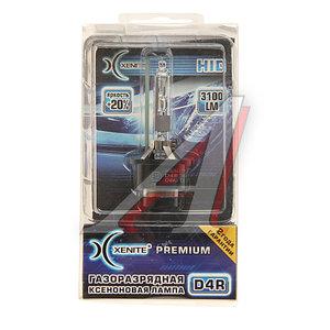 Лампа ксеноновая D4R 35W P32d-6 42V 4300K +20% бокс Premium XENITE 1002019