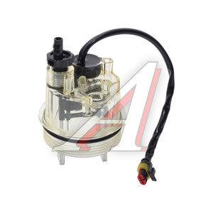 Стакан КАМАЗ-ЕВРО водосборный сепаратора (для PreLine PL 270,420) с нагр. эл. и с клапаном слива СМ PL-270/420