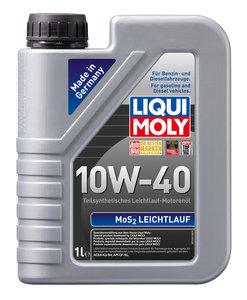 Масло моторное MoS2 LEICHTLAUF п/синт.1л LIQUI MOLY LM SAE10W40 1930, 84142