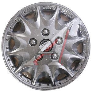 Колпак колеса R-13 декоративный серый комплект 4шт. ПРИНЦ ПРИНЦ R-13