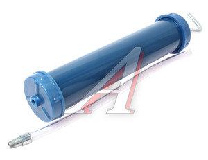Шприц плунжерный маслозаливной 500мл (сталь, с пластиковой крышкой), шланг 350мм, PRESSOL PRESSOL 12902, 12 902