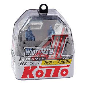 Лампа H3 12V 55W /100W Whitebeam бокс (2шт.) KOITO P0752W