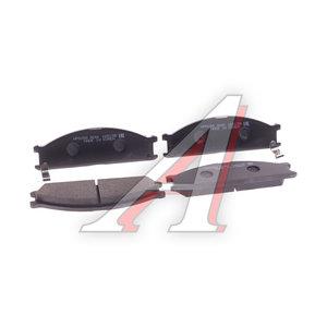 Колодки тормозные NISSAN Terrano (R20) передние (4шт.) HSB HP5058, 41060-08N90