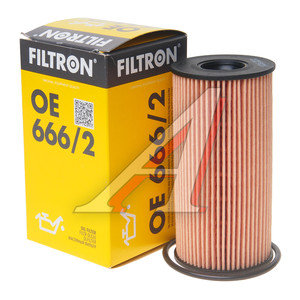 Фильтр масляный RENAULT NISSAN FILTRON OE666/2, OX441D, 15209-00Q0A/