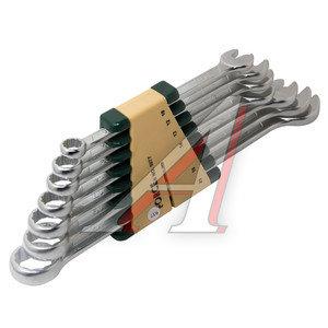 Набор ключей комбинированных 10-21мм 7 предметов в холдере изгиб 15град. FORCE F-5077