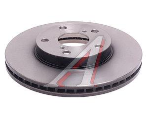 Диск тормозной TOYOTA Rav 4 (00-06) передний (1шт.) TRW DF4161, 43512-42031