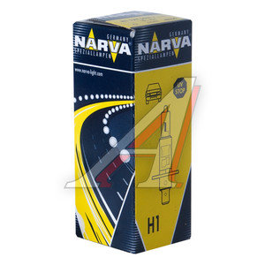 Лампа 12V H1 55W P14.5s NARVA 48320, N-48320, А12-55(Н1)