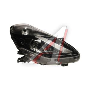 Фара RENAULT Clio (09-) правая (черная) (под корректор) TYC 20-C051-05-2B, 551-1179R-LDEM2, 7701072013