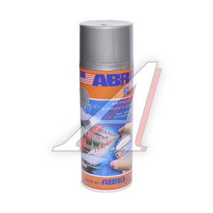 Краска серебристая металлик аэрозоль 473мл Rus ABRO ABRO Rus SPOM-100-R, SPOM-100-R