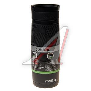 Термокружка 470мл непроливайка черная Metra CONTIGO 1000-0621